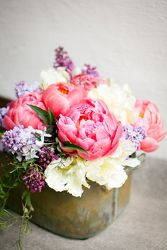Peonies and Lilacs from your Sebring, Florida florist