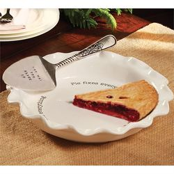Mud Pie Circa Pie Plate and Server from your Sebring, Florida florist