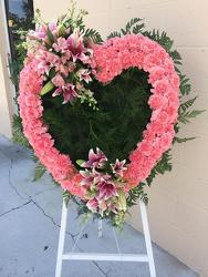 Pink Heart from your Sebring, Florida florist