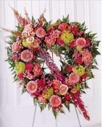 Pink Open Heart from your Sebring, Florida florist