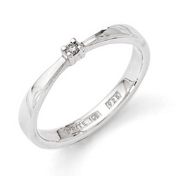 White Ice Diamond Ring from your Sebring, Florida florist