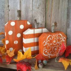 Pumpkin Trio from your Sebring, Florida florist