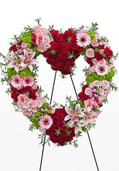 Heart Of Red And Pink from your Sebring, Florida florist