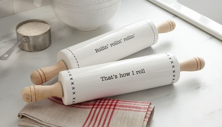 Mud Pie Rolling Pin from your Sebring, Florida florist