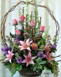 Serene Basket from your Sebring, Florida florist