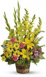 Spring Sympathy Basket from your Sebring, Florida florist