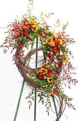Grapevine Wreath of Blessings from your Sebring, Florida florist