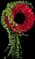 Wreath of Roses from your Sebring, Florida florist