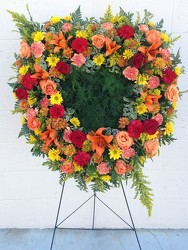 Wreath of Warmth from your Sebring, Florida florist