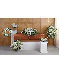 White Tribute Grouping from your Sebring, Florida florist