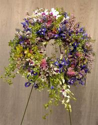 Wildflower Wreath from your Sebring, Florida florist