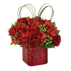 Valentine Cube from your Sebring, Florida florist