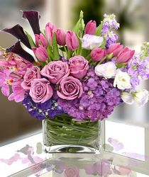 Purple and Pink Passion from your Sebring, Florida florist